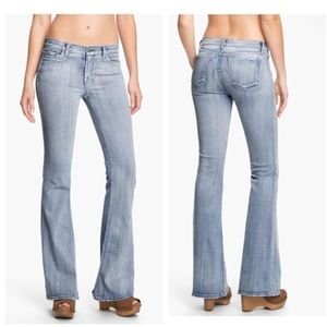 J brand babe Flare Leg afterlife jeans Sz 27x34